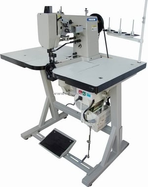 Double Needle Mocassion Sewing Machine