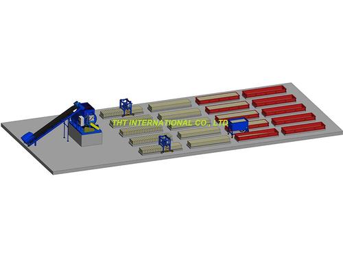 Small Clc Brick Manufacturing Plant
