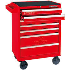 Tool Trolley for Automotive Garage