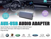 AUX-USB Audio Adapter
