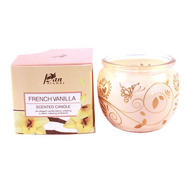 French Vanilla Flavored Scented Candle
