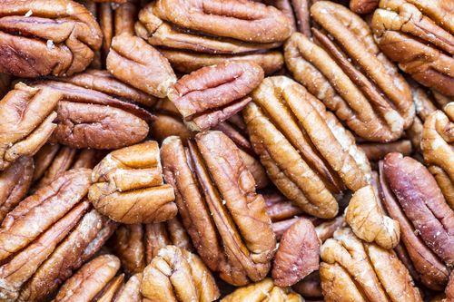 Raw Dried Pecan Nuts