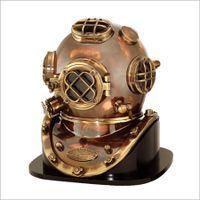 Antique Nautical Mark V Divers Helmet