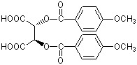 Di Para Anisoyl L Tartaric Acid, Anhydrous
