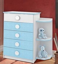 Bedroom Chest of Five Drawers