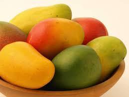 Fresh And Healthy Mangos