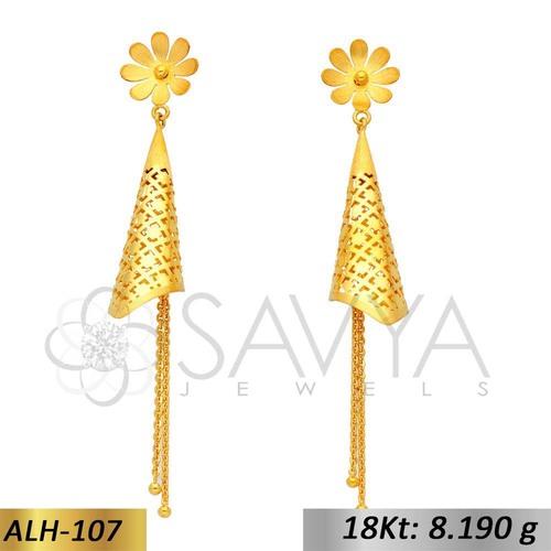 Ladies Gold Italian Hangging