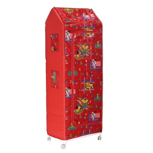 Multipurpose Kids Almirah Wardrobe for Clothes Toys and Books Extra Large Shelf