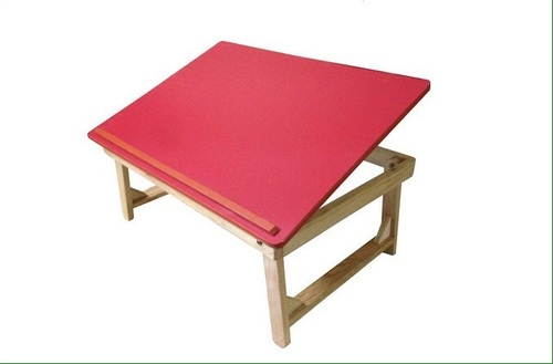 Multipurpose Wooden Bed Table For Study Craftwork Laptop