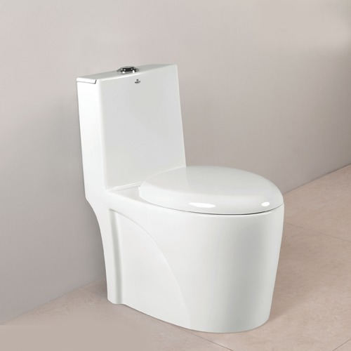 One Piece Toilet With Tank