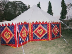 Durable Medieval Round Tent