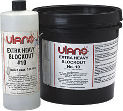 Ulano Extra Heavy Blockout 10 - Fix Pinholes And Block Open Screen Areas