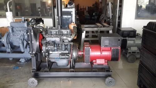 Diesel Engine with Alternator