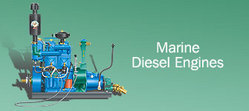 Rugged Marine Diesel Engine