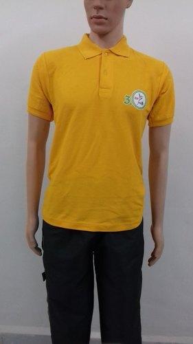 Short Sleeve Collar T-Shirt Certifications: Msme & Nsci Registered