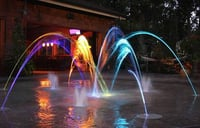 Colour Landscape Fountains
