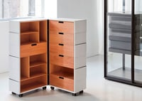 Wooden Corporate Storage Units Service