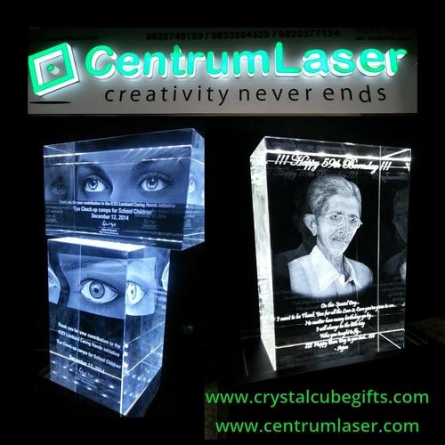 Attractive 3D Crystal Mementos