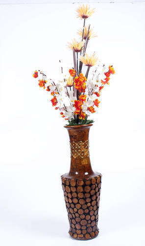 Attractive Look Wooden Flowers Pot