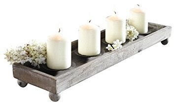 Highly Durable Wooden Candle Stand