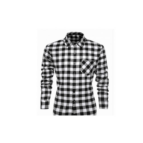 2325aee9d2ef1 Smooth Finish Mens Check Shirt in Ludhiana