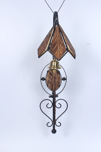Wooden And Iron Door Bell