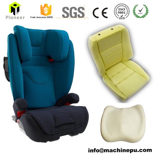 Polyurethane Pu Foam Bicycle Seat Back Cushion