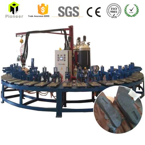 Polyurethane Shoe Sole Injection Molding Making Machine