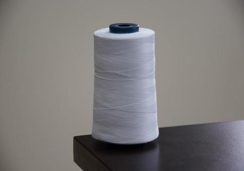 White Zipper Sewing Thread