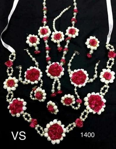 Designer Artificial Flower Necklace Set In Hyderabad Telangana