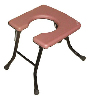 Folding Commode Stool/Chair