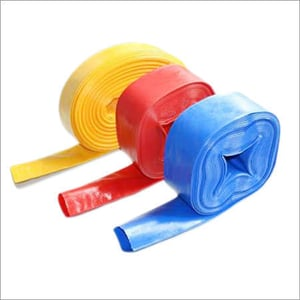 Coloured LD Flat Pipe