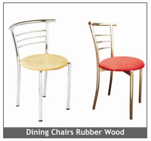 Wooden Top Cafeteria Chair