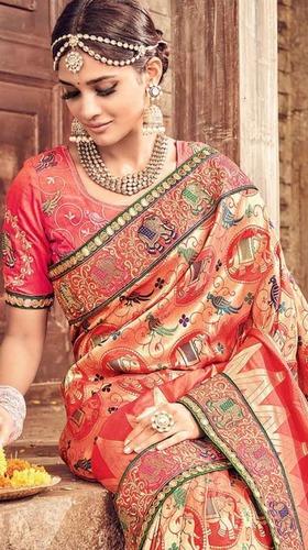Designer Pure Madhubani Sarees