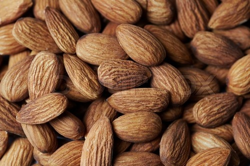 Dry Brown Almond Nut