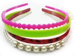 Girl's Neon Glow Bunny Hair Band