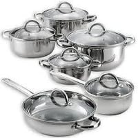 Metallic Kitchen Cookware