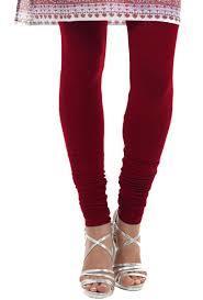 Red Colours Plain Legging