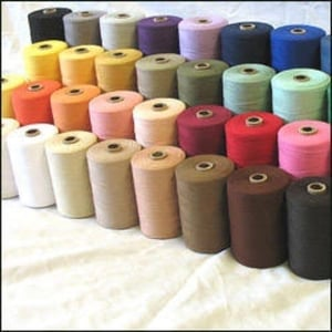 Cotton Polyester Blended Dyed Yarn