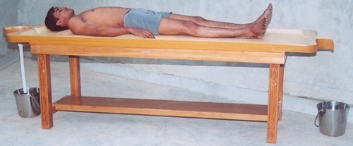 Traditional Massage Table (Wooden)