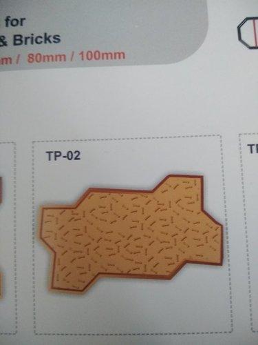 TP-02 Plastic Paver Moulds