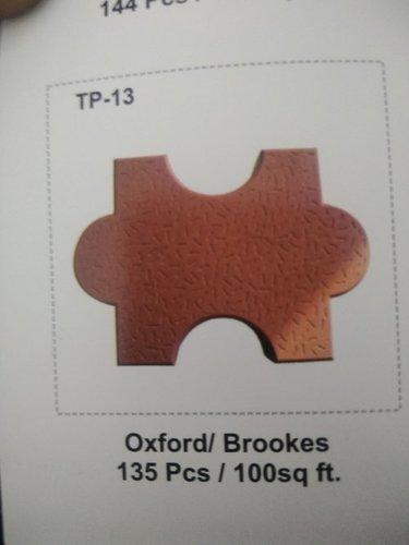 TP-13 Oxford/Brookes Paver Moulds