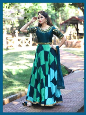 Attractive Readymade Anarkali Suit