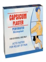 Capsicum Medical Plaster Kit