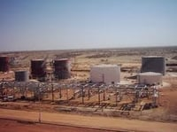 Grit Blasting And Painting Of Crude Oil Storage Projects