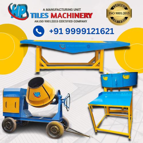 Efficient Paver Block Making Machine