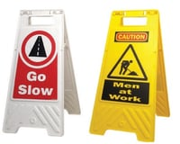 Customizable Message Plates For Safety