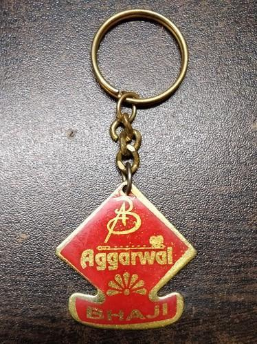 Customized Metal Keychain With Golden Color
