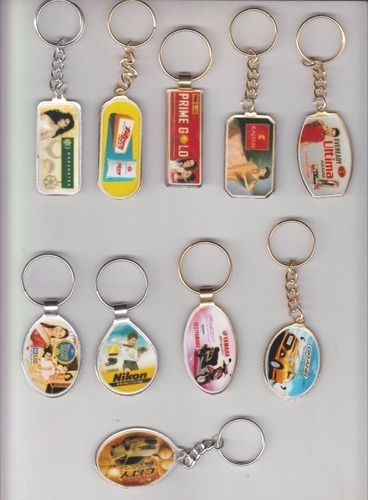 Customized Metal Printed Keychain