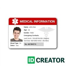 ID Card For Office